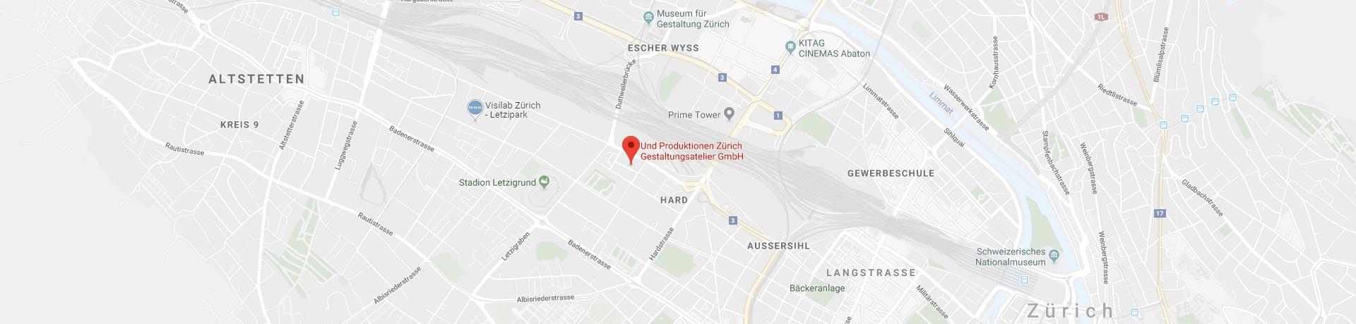 undProduktionen-Standort-Karte